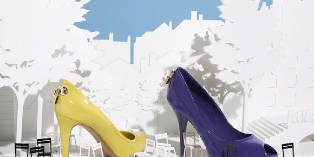 Весенне-летняя коллекция обуви от Louis Vuitton (6 фото)