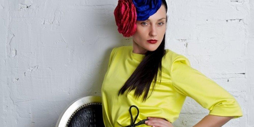 Яркие платья от Сергея Сысоева (12 фото)