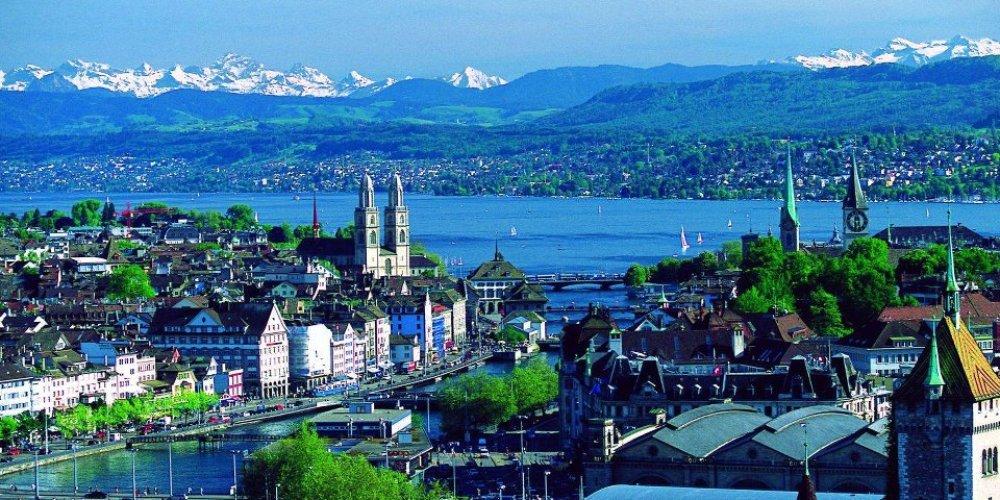 Цюрих – старинный городок Швейцарии