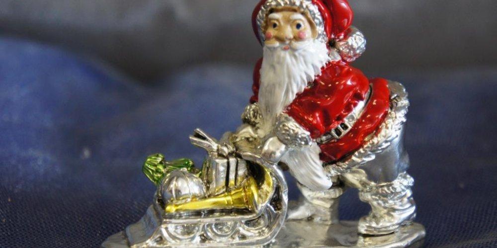 Кукую музыкальную статуэтку купить на Новый год
