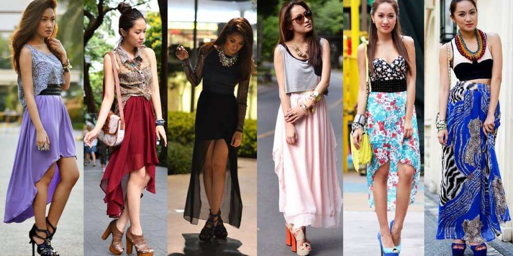 Юбки: модные тенденции 2014