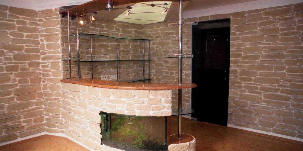 Барная стойка - современный элемент интерьера