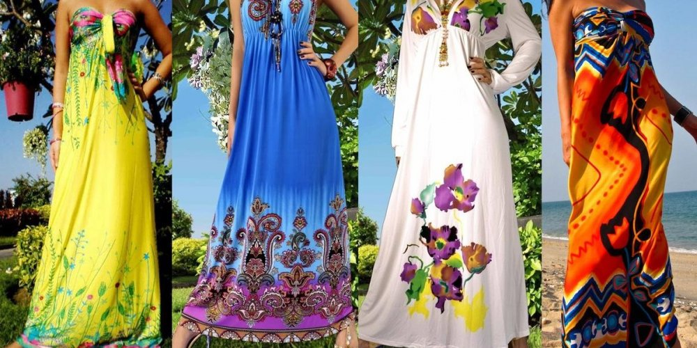 Модные сарафаны – 2014