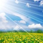 Солнце приняло образ прекрасной девушки