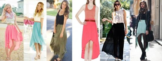 Куда, как и с чем носить длинную юбку (2)