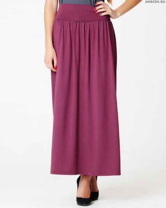 Куда, как и с чем носить длинную юбку (3)