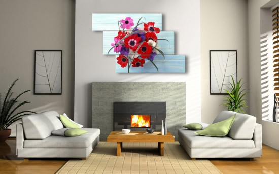 Как украсить свой дом картинами (2)