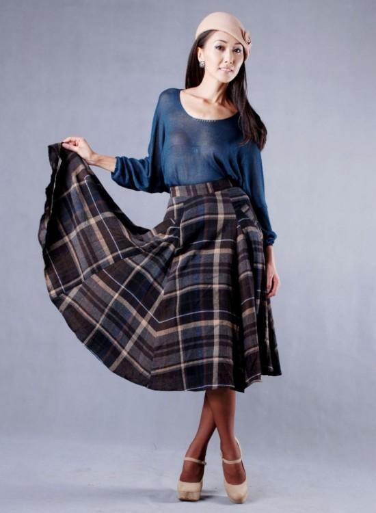 Женские юбки для осени 4