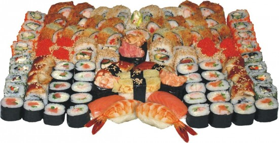 Правильно едим суши чудо - палочками