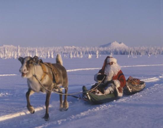 В гостях в Санта-Клауса