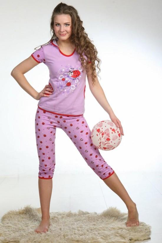 Женские трикотажные пижамы 2