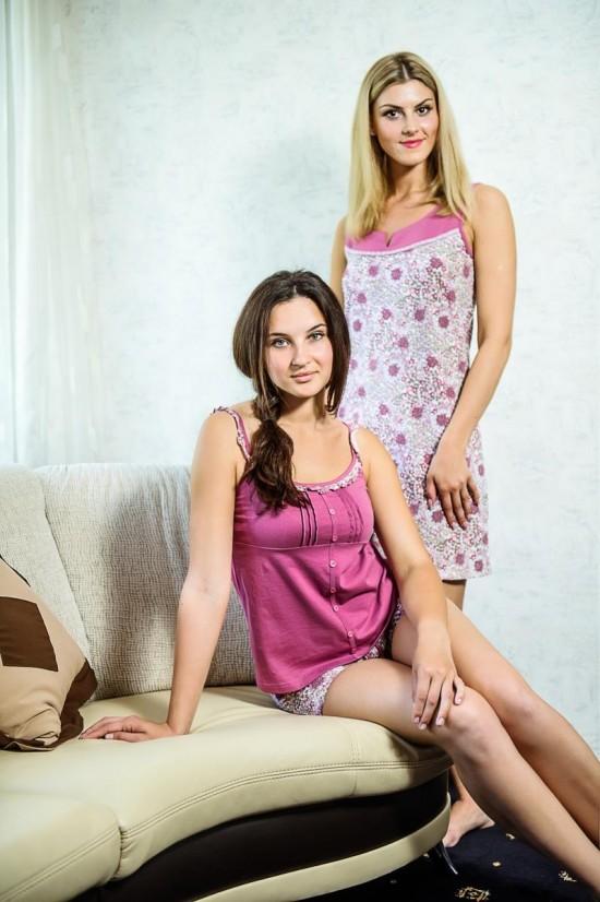 Женские трикотажные пижамы 4