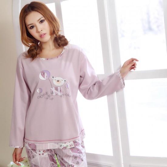 Женские трикотажные пижамы 5