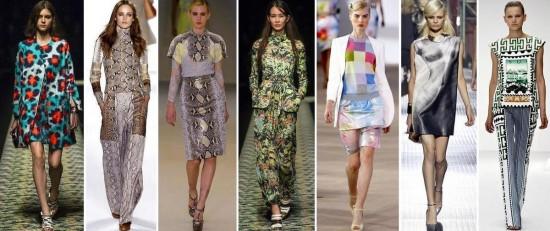 Модные принты: как правильно сочетать 3