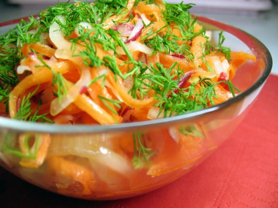Овощные блюда – как путь к стройному телу.