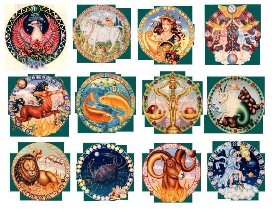украшение по знаку зодиака 3