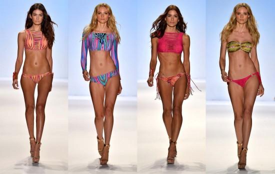 Тренды пляжной моды 20142