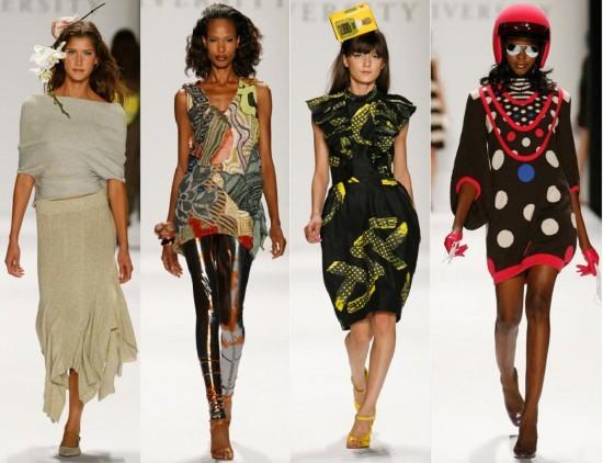Модные показы могут развить чувство стиля