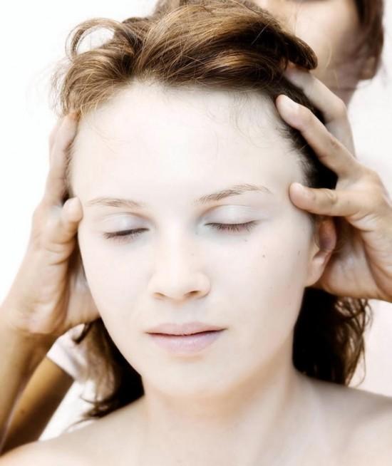 Массаж волос 3