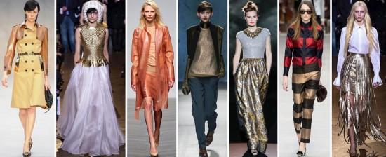 Модные акценты 2014 года