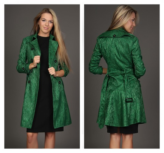 Зеленый цвет в моде4