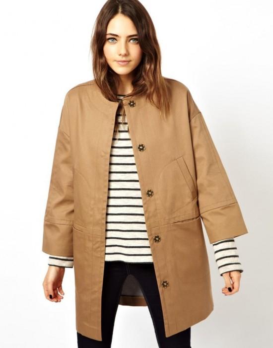 Как носить пальто с рукавом 2