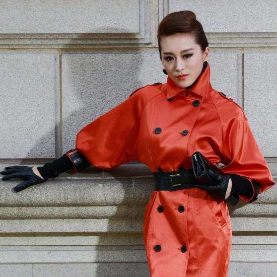 Как носить пальто с рукавом 3