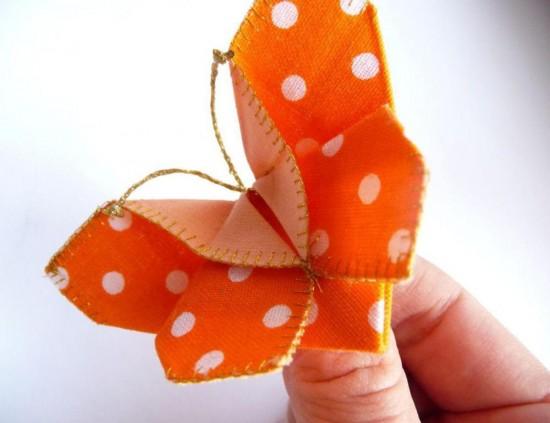 Оригами из текстиля 1