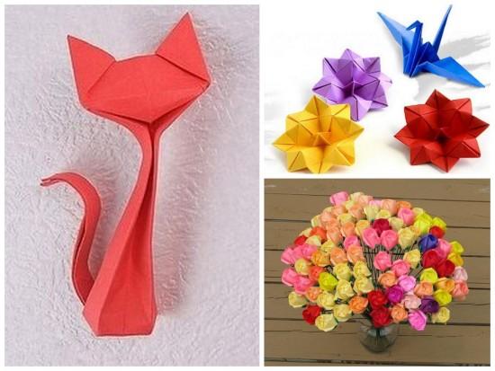 Оригами из текстиля 4