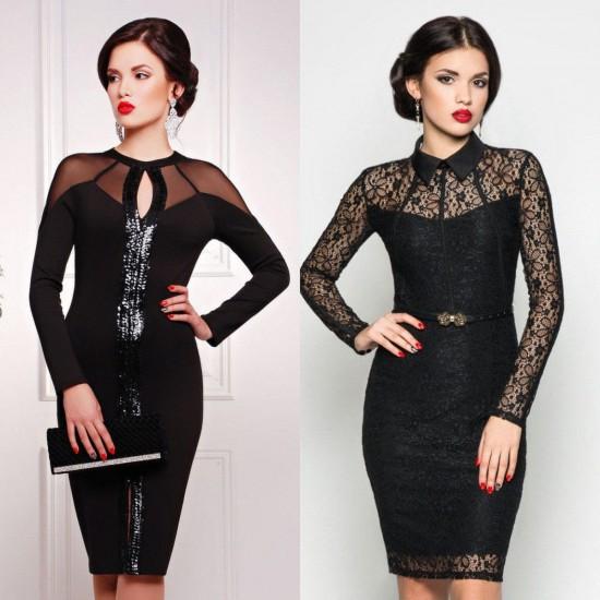 Самые модные праздничные платья к Новому году